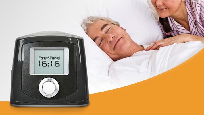 费雪派克ICON NAA单水平家用睡眠呼吸机 安静舒适的治疗过程