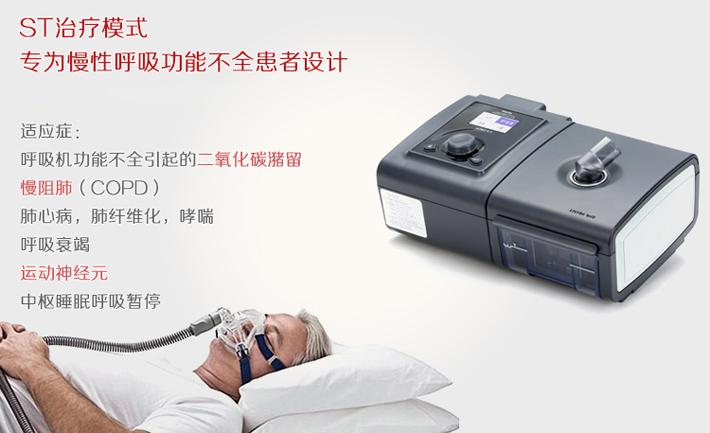 飞利浦伟康家用无创呼吸机 BiPAP ST 适应症
