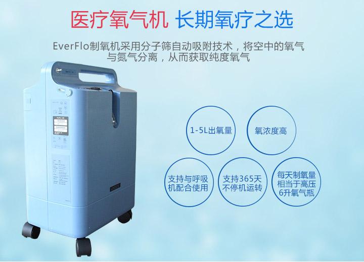 飞利浦Everflo 5L 家用制氧机 制氧原理